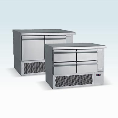 Under mounted counters