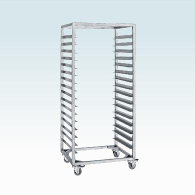 Container tray trolley
